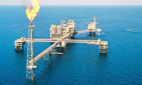 Qatari gas platform