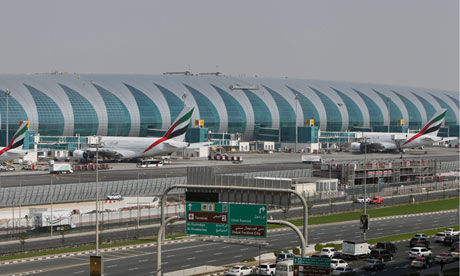 Emirates' new terminal at Dubai airport