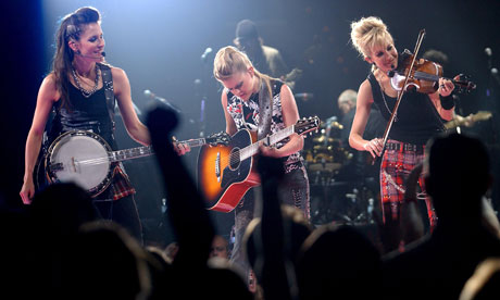 Dixie Chicks performing in 2003