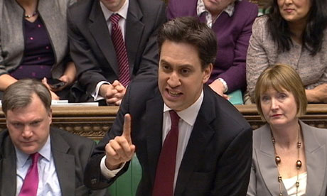 Ed Miliband responds to the budget