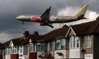 Heathrow Gulf Air jet
