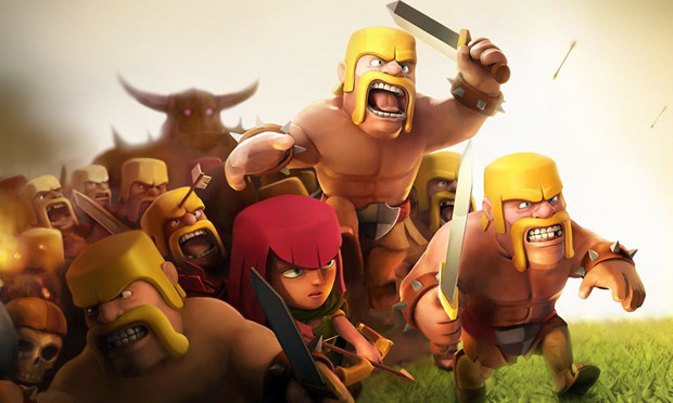 Clash of Clans heads