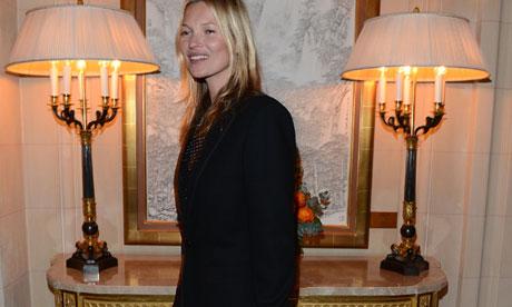 Kate Moss, Paris 2013