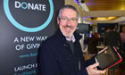 Griff Rhys Jones at the Donate launch
