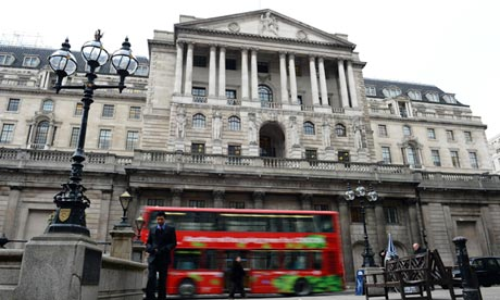Bank of England triple-dip recession fears