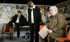 James Corden, Frances de la Tour and Richard Griffiths in The History Boys, 2005.