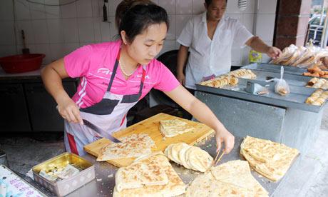 Vegetarian food in Shanghai.