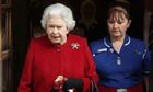 Queen Elizabeth II leaves hospital