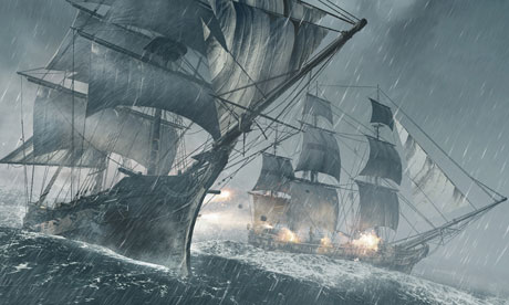 Assassin's Creed IV: Black Flag will feature sea battles that are