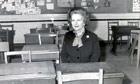 Margaret Thatcher, 1982.