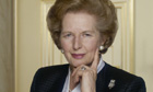 Margaret Thatcher in 1990