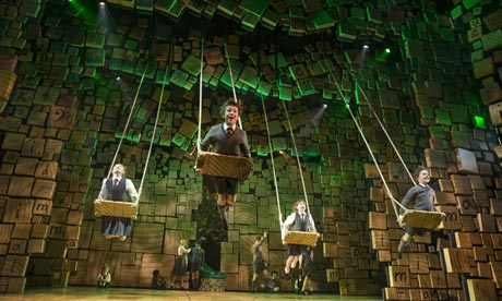 Matilda: The Musical on Broadway has opened to rave reviews