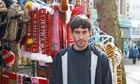 Market trader Matthew Parry in Liverpool