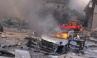 Explosion at central Damascus Syria