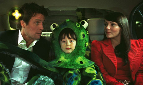 Hugh Grant, Billy Campbell and Martine McCutcheon in Love Actually