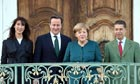 The Camerons and the Merkels in Germany.