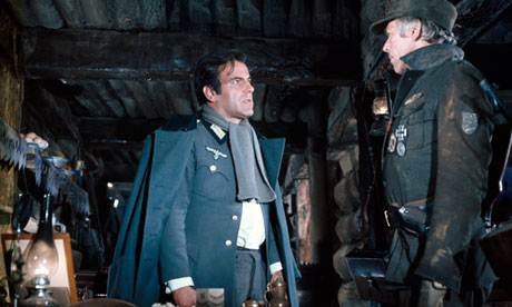 Maximilian Schell and James Coburn in Cross of Iron