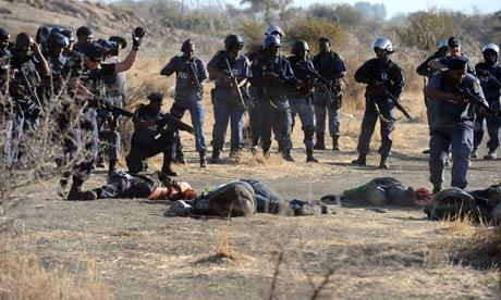 South African miners killed at Marikana