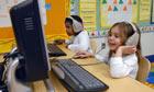 School Children use computers
