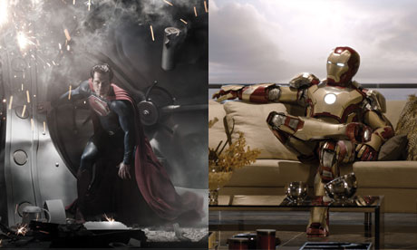 iron man 3 versus man of steel