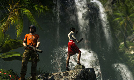 DIR waterfall