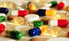 Assorted pharmaceutical pills