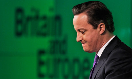 Cameron speech on Europ