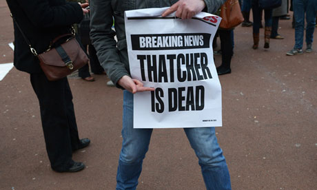 Thatcher is dead
