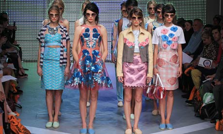 Skater dress: Holly Fulton catwalk