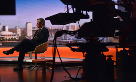 Michael Gove appears on The Andrew Marr Show