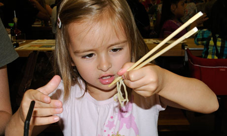 Kids' food in restaurants can be tricky …
