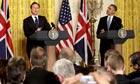 Barack Obama meets David Cameron