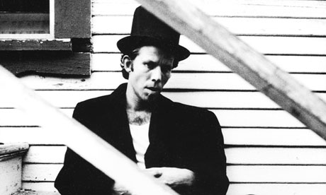 Tom Waits photographed by Anton Corbijn in 1983