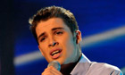 Joe Mcelderry … together again with Beyoncé at last.