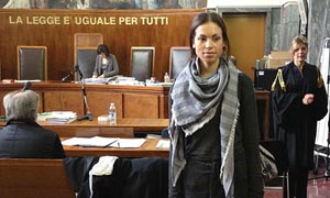 Silvio Berlusconi aides' 'bunga bunga' trial: Ruby takes the stand