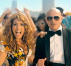 arianna and pitbull in Sexy People promo