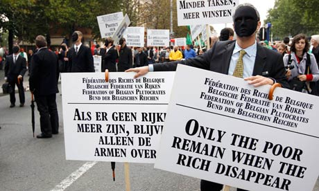pan-European protest to demand better job protection in Brussels