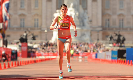 Susan Partridge: 'Running is about pushing through boundaries' Partridge was the fastest British woman at the London marathon, and has been selected for the 2013 world championships in Moscow.