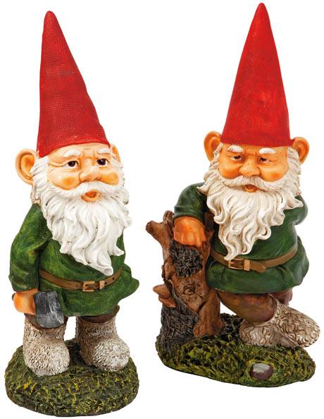 Garden gnome, £7.99 each, Homebase