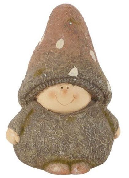 Ceramic mushroom gnome child £2.98, B&Q