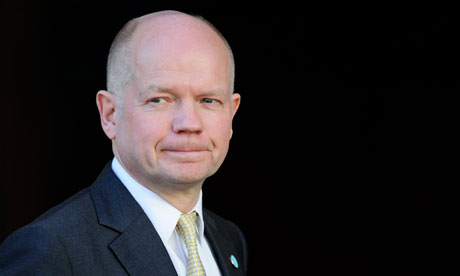 William Hague seeks to change arms embargo on Syria