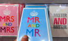 Cards celebrating same-sex unions