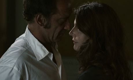 Les Salauds - Vincent Lindon and Chiara Mastroianni