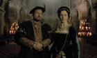 The Last Days of Anne Boleyn, with Daniel Flynn as Henry VIII and Tara Breathnach as Anne Boleyn. Photograph: Tim Cragg/BBC/Oxford Film and Television