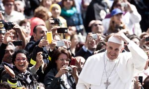 Pope Francis says atheists can be good