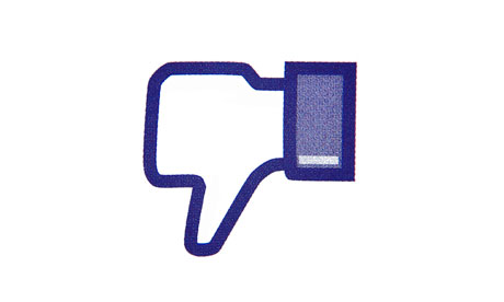 'In spite of complaint after complaint, Facebook continues to deem content encouraging violence against women inoffensive.' Photograph: dpa picture alliance/Alamy