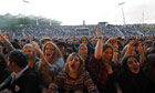 Fans at the concert by the Vaccines at the Primavera Sound Festival in Barcelona