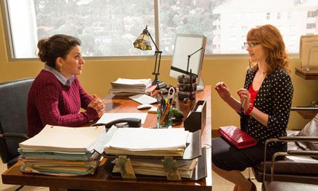 Arrested Development … Alia Shawkat and  Judy Greer