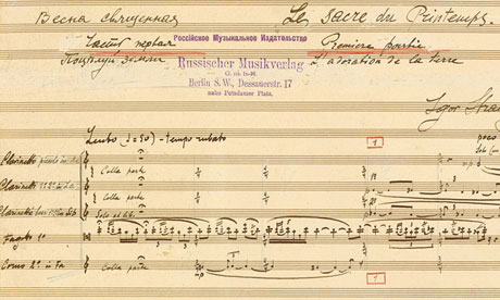 How Stravinsky's Rite of Spring has shaped 100 years of music Piece first performed in Paris exactly 100 years ago emblematic of era of great scientific, artistic and intellectual ferment