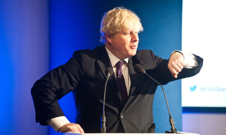 Boris Johnson Speaks At Global University Summit